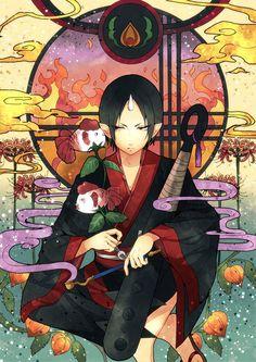 Anime Hoozuki no Reitetsu hoozuki Home Decor Poster Wall Scroll 60 Anime Chibi, Manga Anime, Anime Art, Anime Boys, 2014 Anime, Natsume Yuujinchou, Cartoon Painting, Anime Kunst, Animation