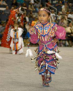 Young Jingle Dress Dancer