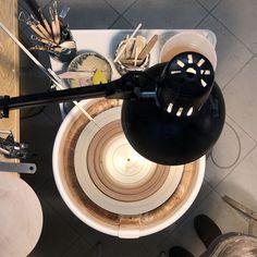 every new beginning       #potterwheel #contemporaryceramics #potterystudio #ceramics #ceramica #instapottery #wheelthrowing #ceramiclicious #artisanmade #madeinitaly #indiemaker #shimpo #designer #clay #maker #craftmanship #artisan #stoneware #contemporarycraft #createmakeshare #handmade  #makersmovement #makersgonnamake #keramik #designermaker Wheel Throwing, Contemporary Ceramics, Pottery Studio, New Beginnings, Stoneware, Artisan, Clay, Handmade, Instagram