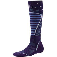 SmartWool® Women's PhD® Ski Medium Pattern Socks | Merino Wool