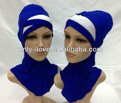 e3ff71d1a6f muslim crossover two tone ninja inner underscarf