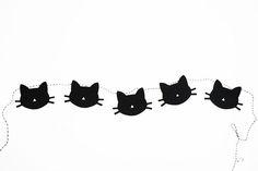 Cat Garland + printable