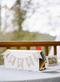 simple card mailbox | Chris Isham #wedding