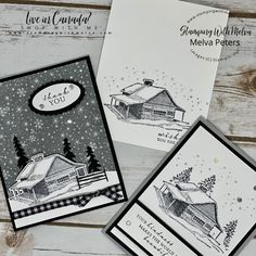 Card Making Tutorials, Making Ideas, Homemade Christmas Cards, Handmade Christmas, Make Your Own Card, Fancy Fold Cards, Stamping Up Cards, Ink Stamps, Winter Cards
