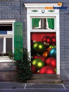 20. Türchen - die Weihnachtsdekoration hängt   Noch vier Tage!