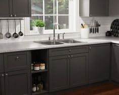 Topmount Double Equal Bowl Stainless Steel Sink Show your American pride one of our USA Made stainless steel kitchen sinks! Kitchen Decor, Kitchen, Modern Kitchen Cabinets, New Kitchen Cabinets, Kitchen Countertops, Kitchen Remodel, Kitchen Renovation, Contemporary Kitchen Decor, Contemporary Kitchen