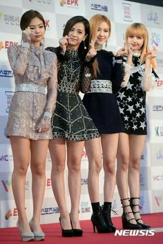 Blackpink in your area Blackpink Fashion, Korean Fashion, Fashion Outfits, South Korean Girls, Korean Girl Groups, Black Pink Kpop, Looks Black, Blackpink Photos, Jennie Blackpink