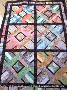 The Cutting Table Quilt Blog – A Blog for Quilters by Quilters » Amazing Jelly Roll Quilt Pattern