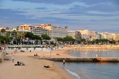 Cannes, France (ate terrific mussels on the beach)