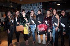 MISS UNIVERSE 2015 :: CHINESE LAUNDRY SPONSOR EVENT AT ZAPPOS | Catalina Morales, Miss Puerto Rico 2015; Mariana Jimenez, Miss Venezuela 2015; Urvashi Rautela, Miss India 2015; Carla Barber, Miss Spain 2015; Ariadna Gutierrez, Miss Colombia 2015; Laura Spoya, Miss Peru 2015; Idubina Rivas, Miss El Salvador 2015; and Brenda Castro, Miss Costa Rica 2015; visit Zappos.com on Tuesday December 8th.