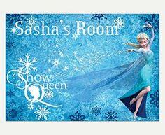 Disney Frozen Snow Queen Elsa Custom Wall Decal
