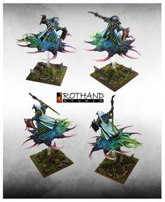 Rothand Studio: Tzeentch Lord on disc