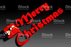 Merry Christmas Text stock photo 109747161 - iStock