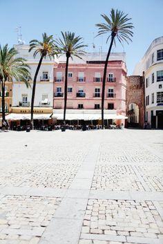 Plaza de la .Catedral arco del Pópulo