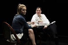 New York Times review of I Don't Know What I can Save You From: Maybe Mr. LaBute is asking us to evaluate how quickly our own brutality might kick in, our own chauvinism might surface. But with Ms. Crovatin's short skirt hiked up over her buttocks, it didn't feel that way. It felt despicable. I knew why those two characters were in the room; I wished I were somewhere else.