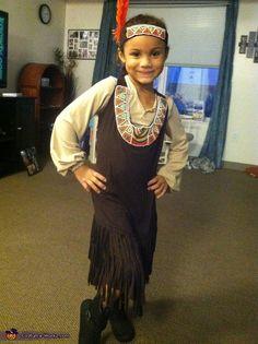 Pocahontas - 2013 Halloween Costume Contest