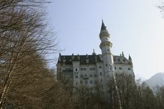 The stunning #NeuschwansteinCastle inspired Disney and is like a weird fairy-tale-dream inside. #Germany #Travel
