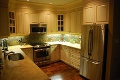 G shaped kitchen layout- 11x14 - have to switch sink and stove ...