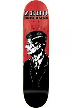 Brockman Dead Presidents Skateboard Deck by Zero
