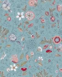 Pip Studio Wallpaper IV - Spring to Life Blue - 375005 Pip Studio, Home Technology, Carnival Glass, Booth Design, Home Repair, Smart Home, Ornament, Home Appliances, Rugs