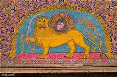 Sun and the Lion - Emblem of Persian Empire by alexpressed, via Flickr