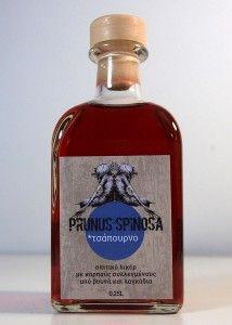 Το Φυτό Με Τη Δαγκάνα » Λικέρ Τσάπουρνο - sloe raki liqueur Prunus, Perfume Bottles, Perfume Bottle, Peach