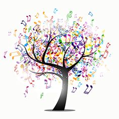 Vector Background With Music Notes Art Print Home Decor Wall Art Source by Related posts: Music notes set of music design elements or icons vector image on Free Music Notes Music Drawings, Music Artwork, Tree Wall Art, Tree Art, Musik Clipart, Music Notes Art, Music Tree, Music Backgrounds, Music Tattoos