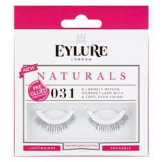 Eylure Naturals 031 Pre-Glued Lashes 1 Pair