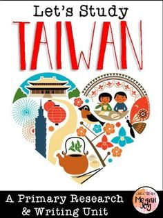 Taiwan Research & Writing Packet This packet includes organizers and activities for learning all about Taiwan! *Book Cover *KWL Chart *Country Research Graphic Organizer *Country Research Notes Organizer *Writing Template *Report Rubric *Flag Coloring Sheet *Country Compare/Contrast Venn Diagram *3 Creative/Research Writing Prompts with Draw & Write Paper