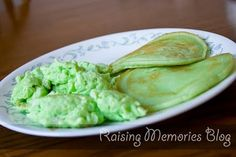 Green Breakfast for St. Patricks Day