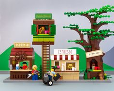 Jeff Friesen's Mini Stereotypes Of LEGO America Are Coming To A Coffee Table Near You Washington State