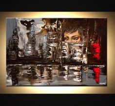 canvas print - City Nights