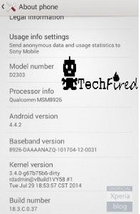 Android 4.4 KitKat For Sony Xperia M2 Coming SOon  Check out