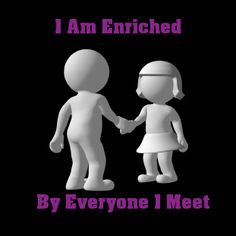 Everyone we meet brings added richness to our lives if we attend to them and learn to listen. Uplifting Thoughts, Self Talk, Self Confidence, Keepsakes, Self Esteem, Our Life, Integrity, Affirmations, Psychology