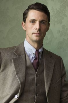 Henry Talbot in Downton Abbey reminds me of Benedict Cumberbatch.
