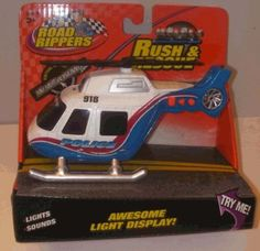 Road rippers Rush  Rescue Mini Helicopter  Blue * See this great product.Note:It is affiliate link to Amazon. #likes4likes