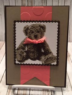 Baby Bear Stampin Up (Stamping With Tamie)