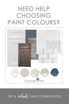 Get a virtual paint consultation completely online. I'll create a paint colour scheme that you can use throughout your entire home.