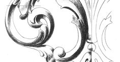 'How to draw the Acanthus' is a perennial topic with a rich history. I covered some points in Part I  and Part II , and am presenting these...