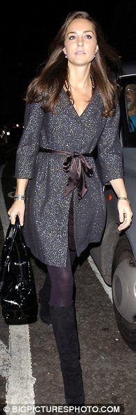 Kate Middleton. I want this jacket for rainy days!