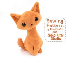 Exclusive Photo of Animal Sewing Patterns Animal Sewing Patterns Cat Stuffed Animal Pattern Soft Toy Patterns Cat Sewing Pattern Plushie Patterns, Animal Sewing Patterns, Sewing Patterns Free, Free Sewing, Fun Patterns, Hand Sewing, Sewing Stuffed Animals, Stuffed Animal Cat, Stuffed Animal Patterns