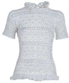 Blusa de Crochê - Manequim