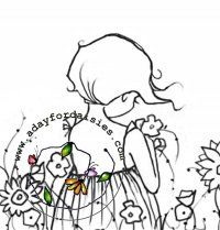 Flowers In My Garden - A Day For Daisies - $4.00