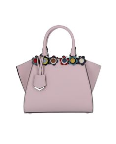 d98ba6ceb637 Fendi Mini 3Jours Floral Stud Bag