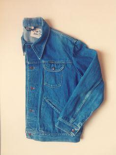 Vintage Wrangler Denim Jacket.  #wrangler #vintage #denim #sustainablefashion