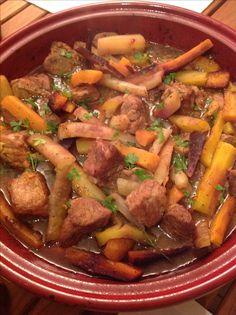 Tajine de veau aux carottes 24 viande