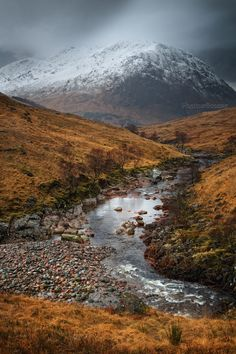 Glen Etive. Between Squalls. Highland Scotland.