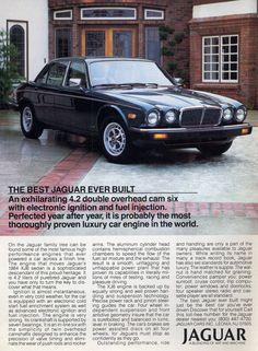 Jaguar XJ6 - Vintage Car Ads