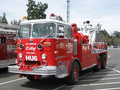 Los Angeles Fire Tow Truck