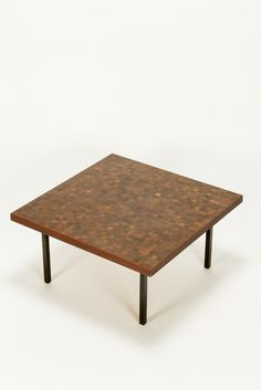 Dieter Waeckerlin Coffee Table 50′